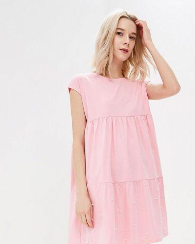 Платье весеннее розовое Zeza