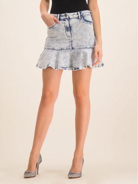 Spódnica jeansowa - niebieska Michael Michael Kors