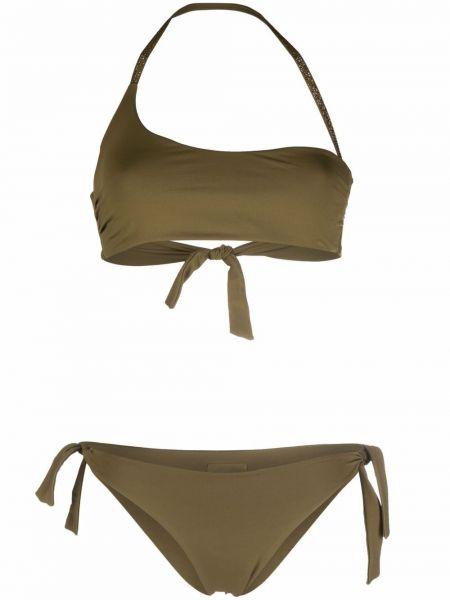 Bikini khaki asymetryczny Fisico