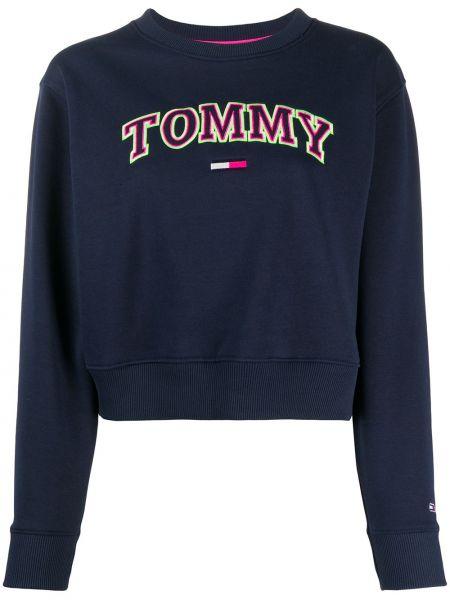 Топ с вышивкой джинсовый Tommy Jeans