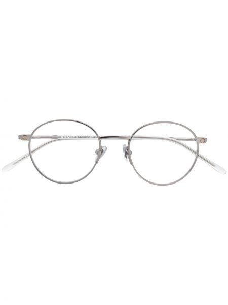 Okulary srebrne Snob