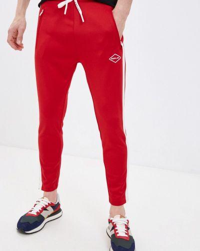 Красные спортивные брюки Replay