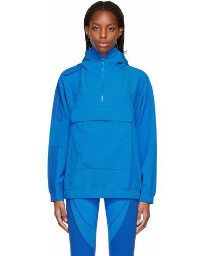 Niebieska kurtka z siateczką Adidas X Ivy Park