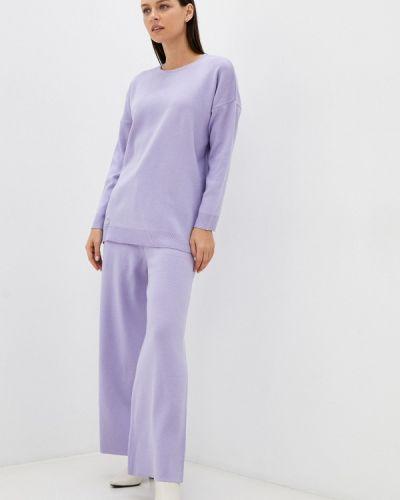 Вязаный костюм - фиолетовый Vladi Collection