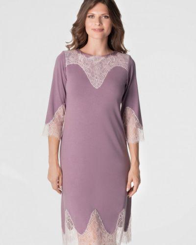Фиолетовое платье Komilfo