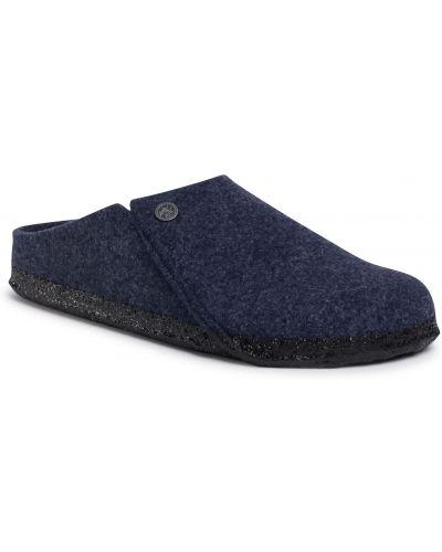 Sandały skórzane - niebieskie Birkenstock