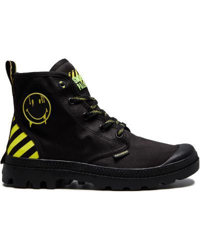 Черные ботинки милитари Palladium