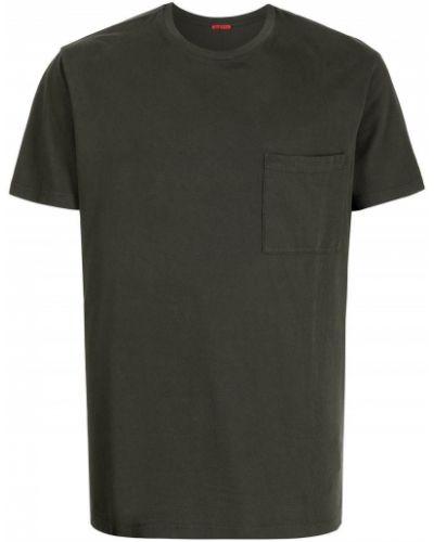 Zielona t-shirt krótki rękaw Barena