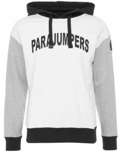 Biała bluza dresowa Parajumpers