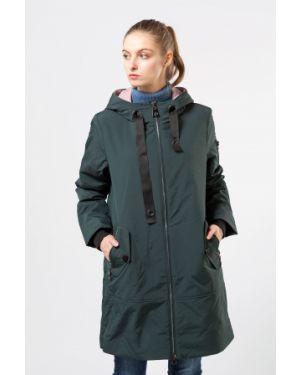 Куртка из полиэстера - зеленая Grace