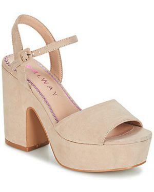 Beżowe sandały Coolway