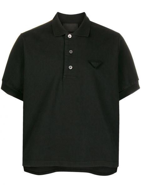 Koszula krótkie z krótkim rękawem klasyczna lato Prada