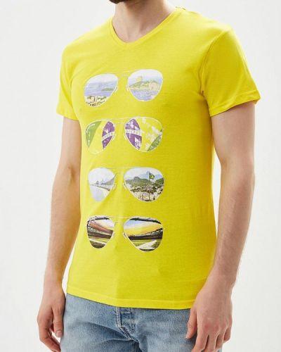 Желтая футболка Paragoose