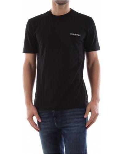 Czarna podkoszulka bawełniana Calvin Klein