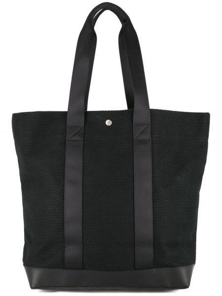 Черная нейлоновая сумка-тоут Cabas