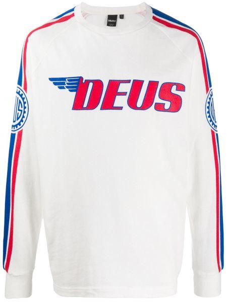 Белая толстовка Deus Ex Machina