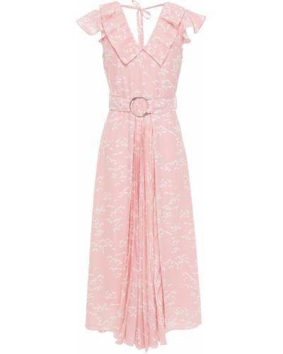 Платье миди - розовое Markus Lupfer
