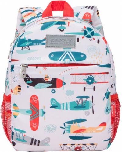 Школьный ранец на бретелях с карманами на молнии Grizzly