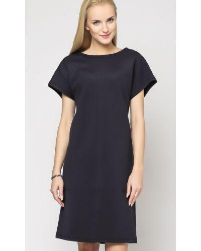 Niebieska sukienka bawełniana Deni Cler Milano