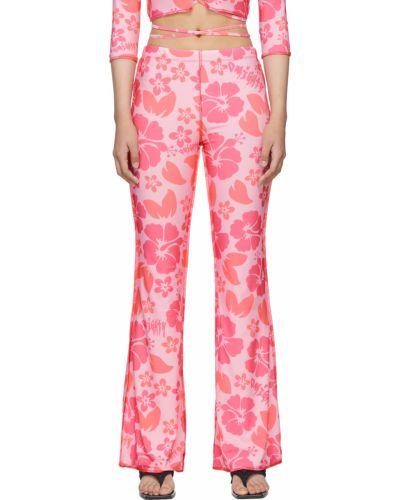 Różowe spodnie bawełniane O'mighty