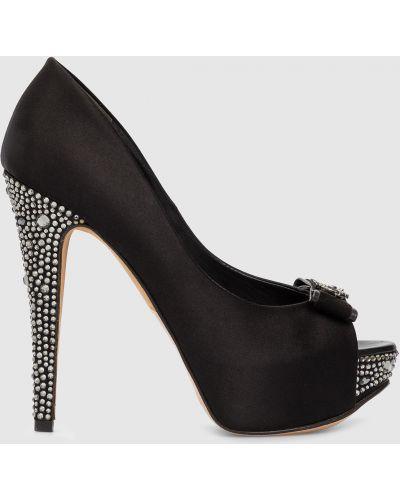 Туфли - черные Gina