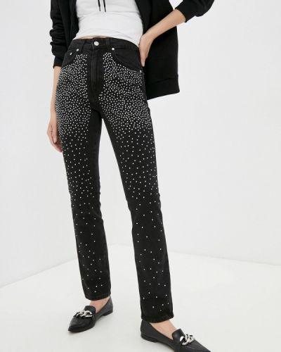 Черные джинсы-скинни узкого кроя Chiara Ferragni Collection