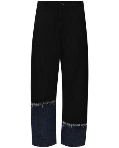 Хлопковые джинсы - черные Y`s