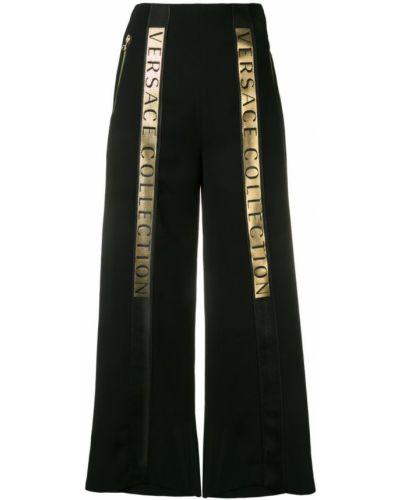Черные кюлоты Versace Collection