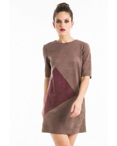 Платье - коричневое Yulia'sway
