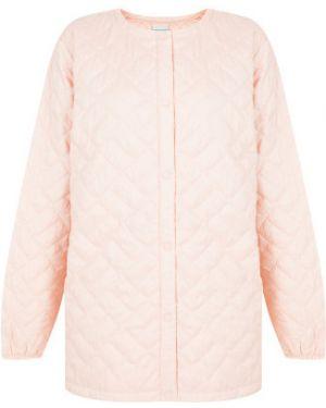 Спортивная теплая розовая утепленная куртка Columbia