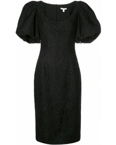 Платье миди с вырезом приталенное Zac Zac Posen