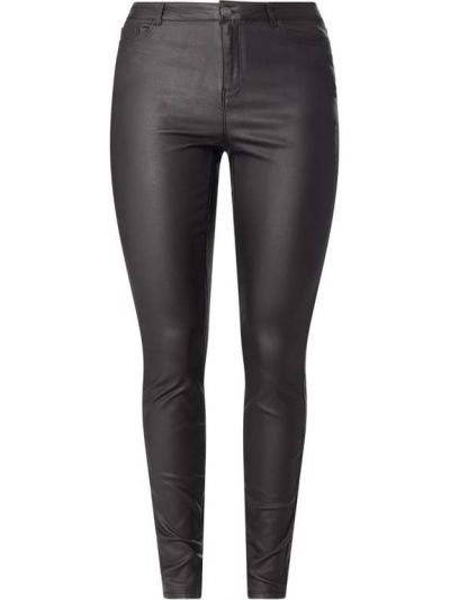 Czarne jeansy z wiskozy Junarose