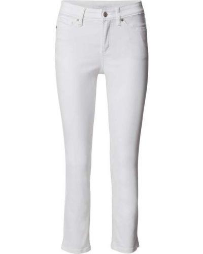 Białe jeansy bawełniane Cambio