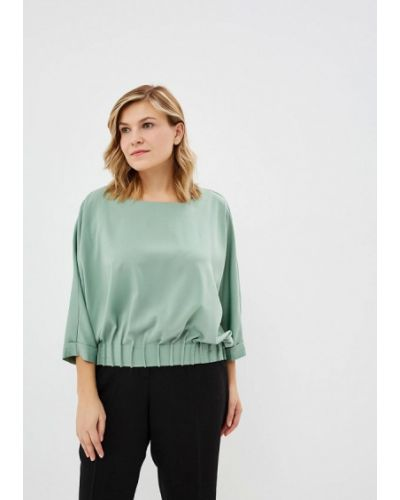 Блузка с длинным рукавом зеленый Grafinia