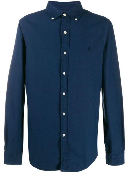 Koszula z długim rękawem klasyczna zapinane na guziki Ralph Lauren