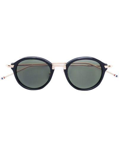 Солнцезащитные очки металлические круглые Thom Browne