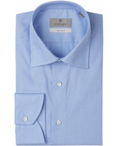 Niebieska koszula Canali