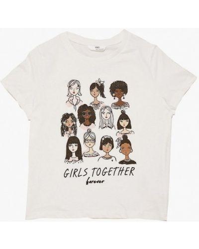 Белая футболка с короткими рукавами Marks & Spencer
