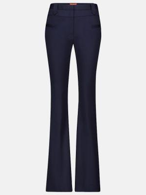 Шерстяные синие брюки Altuzarra