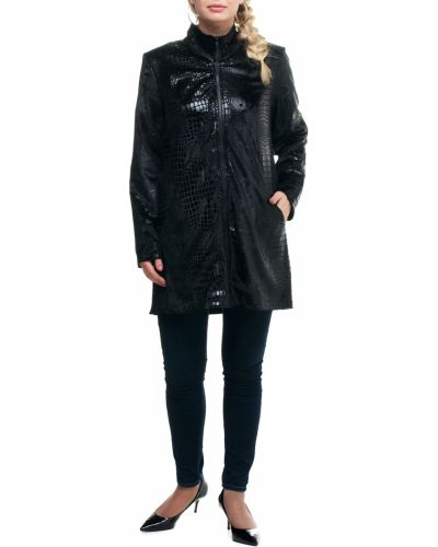 Куртка черная с принтом Lacywear