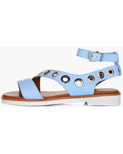 Кожаные сандалии - голубые Antonio Biaggi