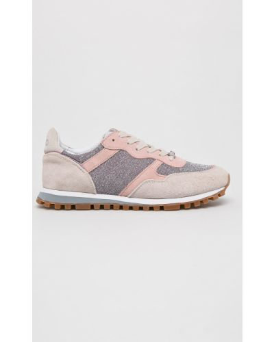 Кроссовки для бега текстильные розовый Liu Jo