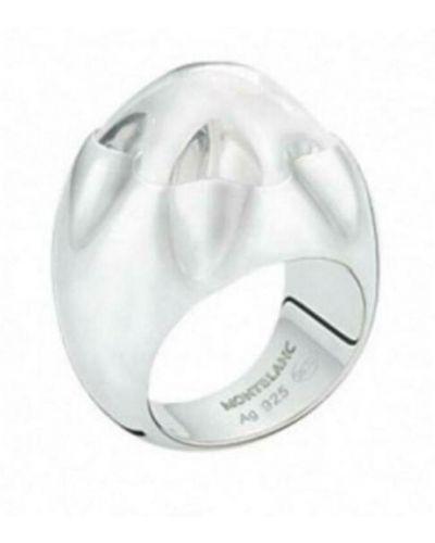 Szary pierścionek Montblanc