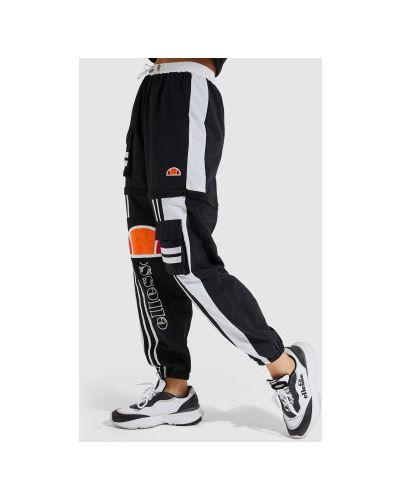 Черные нейлоновые спортивные брюки Ellesse
