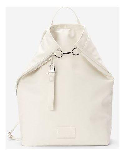 Torba na ramię skórzana - biały Marc O Polo