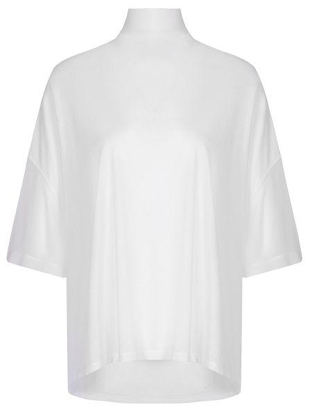 Шелковая футбольная свободная футболка со стразами Gentryportofino