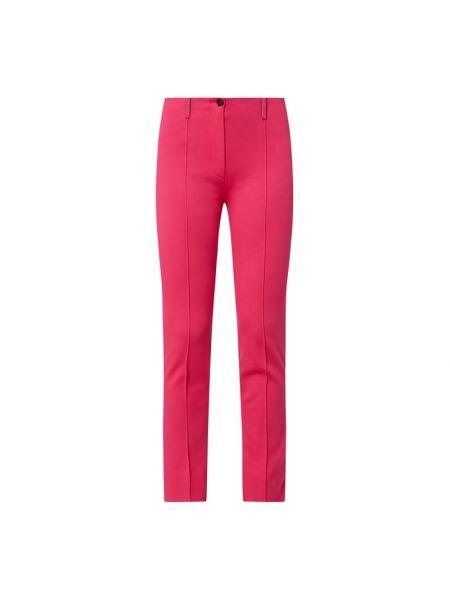 Różowe spodnie materiałowe Marc Cain