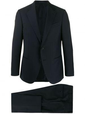 Garnitur kostium niebieski Caruso