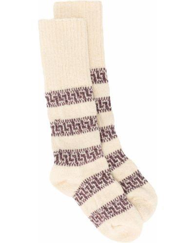 Носки в полоску с вышивкой Isabel Marant