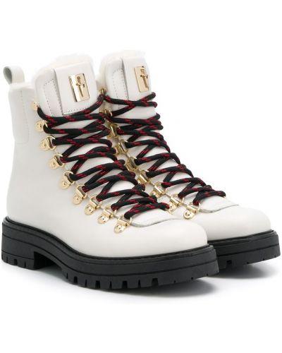 Белые ботинки Cesare Paciotti Kids